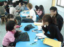 宜蘭新生國小寒假手指識字訓練班照片