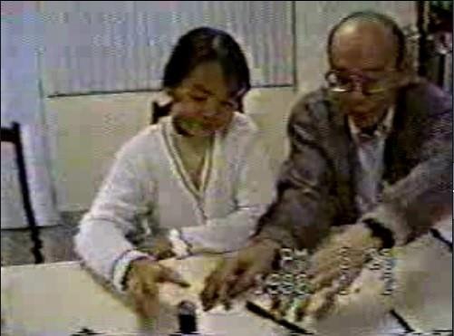 王小妹妹的手指識字實驗